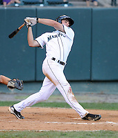 Outfielder James Wood (25) of the Pulaski Mariners in a game against the Danville Braves on July 19, 2010, at Calfee Park in Pulaski, Va. Photo by: Tom Priddy/Four Seam Images