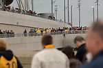 Torquay United 2 Cambridge United 0, 17/05/2009. Wembley Stadium, Conference Play Off Final. Cambridge supporters make their way to the stadium. Torquay United returned to the Football League after two years away following victory at Wembley. Photo by Simon Gill