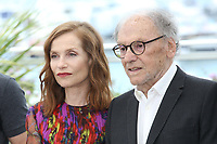 ISABELLE HUPPERT AND JEAN-LOUIS TRINTIGNANT - PHOTOCALL OF THE FILM 'HAPPY END' AT THE 70TH FESTIVAL OF CANNES 2017