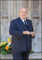 Paul Bocuse - Obsèques de Jacques Martin à la cathédrale Saint Jean. #