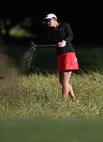 Vivian Lu during the New Zealand Amateur Golf Championship, Poverty Bay Golf Course, Awapuni Links, Gisborne, Saturday 24 October 2020. Photo: Simon Watts/www.bwmedia.co.nz