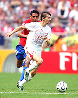 Ebi Smolarek (15) in action for Poland. Poland defeated Costa Rica 2-1 in their FIFA World Cup Group A match at FIFA World Cup Stadium, Hanover, Germany, June 20, 2006.