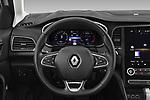 Car pictures of steering wheel view of a 2020 Renault Megane-Estate Intens 5 Door wagon Steering Wheel