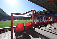 27th September 2020; Ashton Gate Stadium, Bristol, England; English Football League Championship Football, Bristol City versus Sheffield Wednesday; General View of the empty Ashton Gate Stadium before kick off due to the pandemic