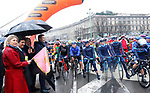 Ready for the start of the 109th edition of Milan-Sanremo 2018 running 294km from Milan to Sanremo, Italy. 17th March 2018.<br /> Picture: LaPresse/Spada | Cyclefile<br /> <br /> <br /> All photos usage must carry mandatory copyright credit (© Cyclefile | LaPresse/Spada)