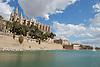 Cathedral Santa Maria de la Palma (14th century) and laggon Parc de la Mar<br /> <br /> Catedral La Seu (cat.: Sa Seo), ofic. Santa Maria de Palma de Mallorca, (siglo XIV) y Parc de la Mar<br /> <br /> Kathedrale La Seu (14. Jh.) und Meerespark<br /> <br /> 3008 x 2000 px<br /> 150 dpi: 50,94 x 33,87 cm<br /> 300 dpi: 25,47 x 16,93 cm