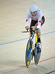 MILTON, ON, AUGUST 11, 2015. Cycling at the Velodrome. Canadian Nicole Clermont (C-5W).<br /> Photo: Dan Galbraith/Canadian Paralympic Committee