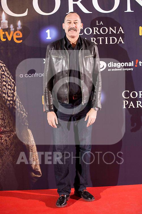 "Premiere of the spanish film ""La Corona Partida"" at Capitol Cinema in Madrid, February 17, 2016. (ALTERPHOTOS/BorjaB.Hojas)"