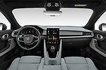 Stock photo of straight dashboard view of 2020 Polestar Polestar-2 Pilot-Plus 5 Door Hatchback Dashboard