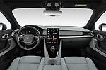 Stock photo of straight dashboard view of 2020 Polestar Polestar-2 Pilot-Plus 5 Door Hatchback Dashboard