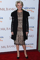 """BURBANK, CA - DECEMBER 09: Emma Thompson arriving at the U.S. Premiere Of Disney's """"Saving Mr. Banks"""" held at Walt Disney Studios on December 9, 2013 in Burbank, California. (Photo by Xavier Collin/Celebrity Monitor)"""