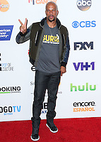 HOLLYWOOD, LOS ANGELES, CA, USA - SEPTEMBER 05: Common arrives at the 4th Biennial Stand Up To Cancer held at Dolby Theatre on September 5, 2014 in Hollywood, Los Angeles, California, United States. (Photo by Xavier Collin/Celebrity Monitor)