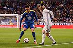 Real Madrid's Luka Modric and Celta de Vigo's Pablo Hernandez during Copa del Rey match between Real Madrid and Celta de Vigo at Santiago Bernabeu Stadium in Madrid, Spain. January 18, 2017. (ALTERPHOTOS/BorjaB.Hojas)