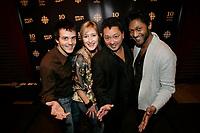 Montreal (QC) CANADA -March 2008, - File Photo -<br /> , Patrice Belanger, ?,<br /> ,Normand Brathwaite<br /> ,Angelo Cadet