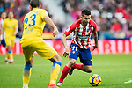 Angel Correa of Atletico de Madrid in action during the La Liga 2017-18 match between Atletico de Madrid and UD Las Palmas at Wanda Metropolitano on January 28 2018 in Madrid, Spain. Photo by Diego Souto / Power Sport Images