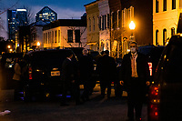United States President Joe Biden leaves Holy Trinity Catholic Church after attending Mass in Georgetown, Washington, D.C., U.S., on Friday, February 20, 2021. <br /> Credit: Samuel Corum / Pool via CNP /MediaPunch