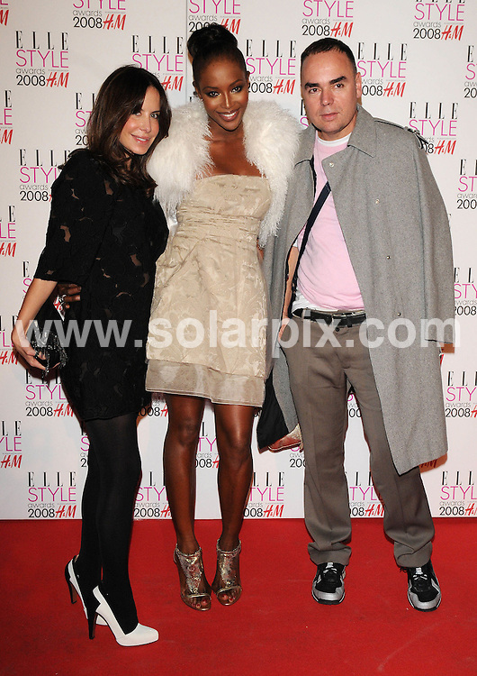 **ALL ROUND PICTURES FROM SOLARPIX.COM**.**WORLDWIDE SYNDICATION RIGHTS**.Celebrities arrive for the Elle Style Awards at The Roundhouse, London. 12th February 2008..This pic: Naomi Campbell..JOB REF: 5777 ATM     DATE: 12_02_2008.**MUST CREDIT SOLARPIX.COM OR DOUBLE FEE WILL BE CHARGED* *UNDER NO CIRCUMSTANCES IS THIS IMAGE TO BE REPRODUCED FOR ANY ONLINE EDITION WITHOUT PRIOR PERMISSION*