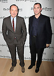Kevin Spacey & Frank Bruni.attending the New York Times 10th Annual Arts & Leisure Weekend in New York City.
