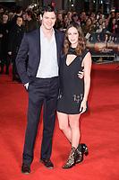 "Benjamin Walker and Kaya Scodelario<br /> arriving for the ""Maze Runner: The Death Cure"" Fan Screening at the Vue West End, Leicester Square, London<br /> <br /> <br /> ©Ash Knotek  D3370  22/01/2018"