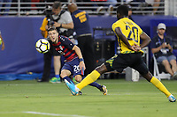 Santa Clara, CA - July 26, 2017:  CONCACAF Gold Cup Final Championship match between the men's national teams of the United States (USA) and Jamaica (JAM) at Levi's Stadium.  USA won the match 2-1.