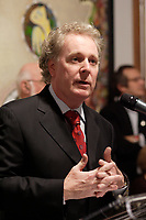 Jean Charest, Quebec Premier speak at ''For Those Who Cannot Speak For Themselves'' event<br /> <br /> Internationally  know artist J C de Vilallonga donated recent painting for a benefit sales for tyhose with menyal disabilities, held at Parisian laundry in <br /> Montreal, canada<br /> <br /> photo : (c) 2005 Images Distribution