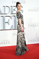 """Dakota Johnson<br /> at the """"Fifty Shades Darker"""" premiere, Odeon Leicester Square, London.<br /> <br /> <br /> ©Ash Knotek  D3223  09/02/2017"""