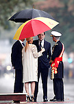 Mariano Rajoy, President of Government of Spain during the National Day military parade. October 12 ,2016. (ALTERPHOTOS/Acero)
