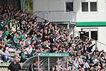 19.09.2020, Dietmar-Scholze-Stadion an der Lohmuehle, Luebeck, GER, 3. Liga, VfB Luebeck vs 1.FC Saarbruecken <br /> <br /> im Bild / picture shows <br /> Luebecker Fans machen Stimmung<br /> <br /> DFB REGULATIONS PROHIBIT ANY USE OF PHOTOGRAPHS AS IMAGE SEQUENCES AND/OR QUASI-VIDEO.<br /> <br /> Foto © nordphoto / Tauchnitz