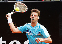 Spanish Marcel Granollers player in action during the Italian Open Tennis WTA tournament in Rome, 15 may 2013.UPDATE IMAGES PRESS/Isabella Bonotto.....