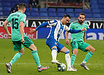 28th June 2020; RCDE Stadium, Barcelona, Catalonia, Spain; La Liga Football, Real Club Deportiu Espanyol de Barcelona versus Real Madrid; Picture show R.D.T.