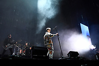 LONDON, ENGLAND - OCTOBER 8: Dominic Craik, James Price and Conor Mason of 'Nothing But Thieves' performing at O2 Arena, London on October 8, 2021<br /> CAP/MAR<br /> ©MAR/Capital Pictures