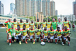 GFI East Africans team poses for a photograph during GFI HKFC Rugby Tens 2016 on 06 April 2016 at Hong Kong Football Club in Hong Kong, China. Photo by Juan Manuel Serrano / Power Sport Images