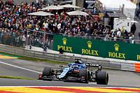 27th August 2021; Spa Francorchamps, Stavelot, Belgium: FIA F1 Grand Prix of Belgium, free practise:   14 Fernando Alonso ESP, Alpine F1 Team