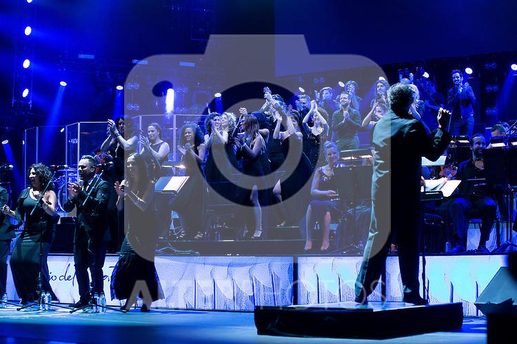 El Barrio in Concert at Royal Theater in Madrid, July 27, 2015.<br />  (ALTERPHOTOS/BorjaB.Hojas)