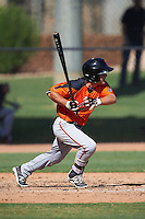 San Francisco Giants Anthony Marks (47) during an Instructional League game against the Chicago White Sox on October 10, 2016 at the Camelback Ranch Complex in Glendale, Arizona.  (Mike Janes/Four Seam Images)