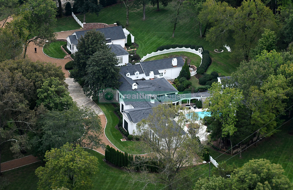 Exclusive Aerial View Of Country Singer Taylor Swift S Historic Nashville Home Realtime Images