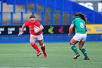 Siwan Lillicrap of Wales in action during the Women's Six Nations match between Wales and Ireland at Cardiff Arms Park, Cardiff, Wales, UK. Sunday 17 March 2019