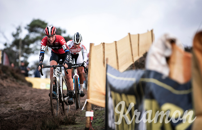 later race winner Annemarie Worst (NED/777)<br /> <br /> CX Superprestige Zonhoven (BEL) 2019<br /> women's race
