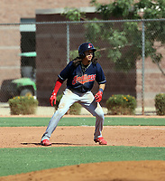 Jose Pastrano - Cleveland Indians  2021 extended spring training (Bill Mitchell)