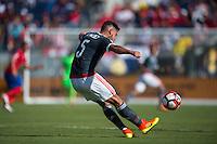 Orlando, Florida - Saturday, June 04, 2016: Paraguayan defender Bruno Valdez (5) during a Group A Copa America Centenario match between Costa Rica and Paraguay at Camping World Stadium.