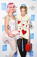 Margot Stilley and Alice Naylor-Leyland<br /> at The Unicef UK Halloween Ball at One Embankment is raising vital funds to support Unicef's life-saving work for Syrian children in danger. To help Unicef keep children safe and warm this winter visit unicef.org.uk/halloweenball <br /> <br /> <br /> ©Ash Knotek  D3178  13/10/2016