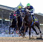 November 1, 2019 : Storm the Court, ridden by Flavien Prat, wins the TVG Breeders' Cup Juvenile on Breeders' Cup Championship Friday at Santa Anita Park in Arcadia, California on November 1, 2019. Alex Evers/Eclipse Sportswire/Breeders' Cup/CSM
