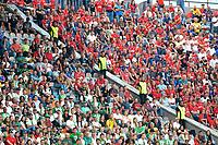 MEDELLIN-COLOMBIA, 29-02-2020: Hinchas de Atletico Nacional y Deportivo Independiente Medellin durante partido de la fecha 7 entre Atletico Nacional y Deportivo Independiente Medellin, por la Liga BetPLay DIMAYOR I 2020, jugado en el estadio Atanasio Girardot de la ciudad de Medellin. / Fans of Atletico Nacional and Deportivo Independiente Medellin during a match of the 7th date between Atletico Nacional and Deportivo Independiente Medellin, for the BetPLay DIMAYOR I Leguage 2020 played at the Atanasio Girardot Stadium in Medellin city. / Photo: VizzorImage / Leon Monsalve / Cont.