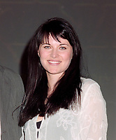 ARCHIVE: LAS VEGAS, NV. July 11, 1997: Actress LUCY LAWLESS at the Video Software Dealers Assoc. convention in Las Vegas.<br /> File photo © Paul Smith/Featureflash