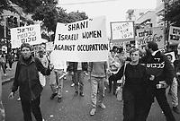 - pacifist rally in Tel Aviv....- manifestazione pacifista a Tel Aviv