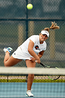 SAN ANTONIO, TX - MARCH 12, 2019: The University of Texas at San Antonio Roadrunners defeat the Missouri State University Bears 6-1 at the UTSA Tennis Center. (Photo by Jeff Huehn)