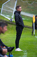 Lower Hutt coach Paul Temple during the Central League football match between Miramar Rangers and Lower Hutt AFC at David Farrington Park in Wellington, New Zealand on Saturday, 10 April 2021. Photo: Dave Lintott / lintottphoto.co.nz