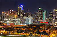 Images of Dallas Skyline and  around.