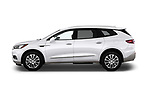 Car driver side profile view of a 2018 Buick Enclave Premium 5 Door SUV