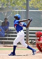 Junior Lake / AZL Cubs..Photo by:  Bill Mitchell/Four Seam Images